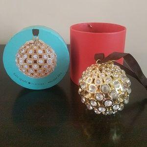 Kate Spade Christmas ornament